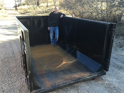 10 yard dumpster colorado springs