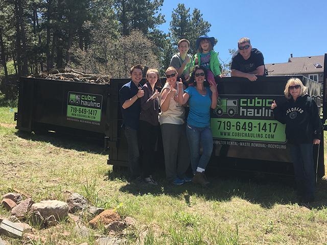 dumpster company reviews colorado springs