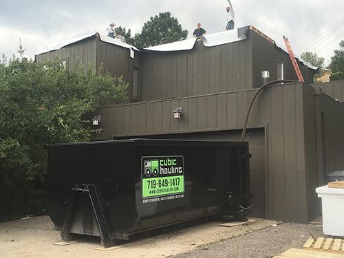 residential dumpster