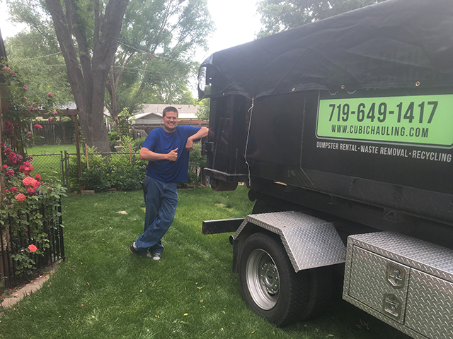 thumbs up colorado springs dumpster rental