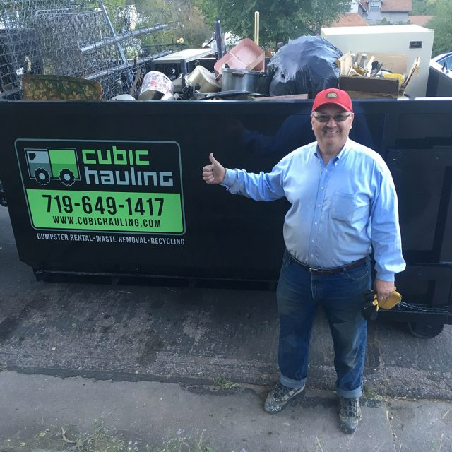metal recycling dumpster colorado springs