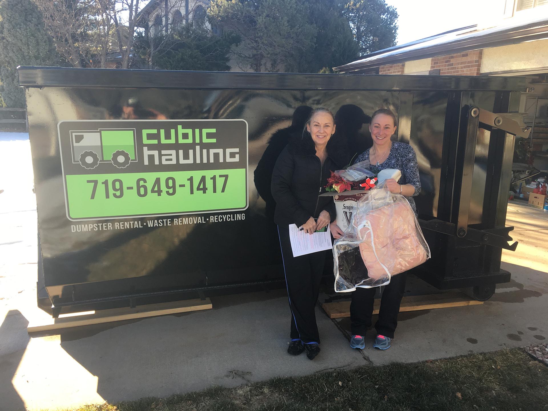 Estate Cleanout Dumpster Rental Colorado Springs Junk