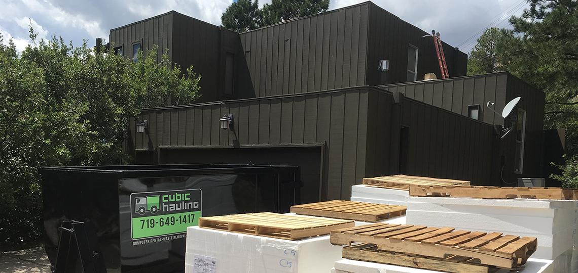 residential dumpster rental colorado springs
