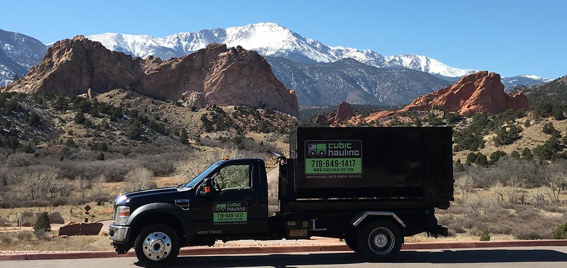 Dumpster Rental Colorado Springs   Roll Off Dumpster   Mini Dumpsters