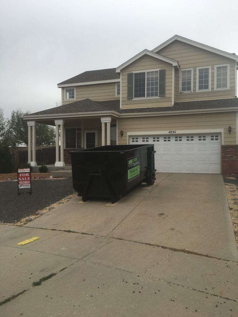 realtor dumpster rental colorado springs