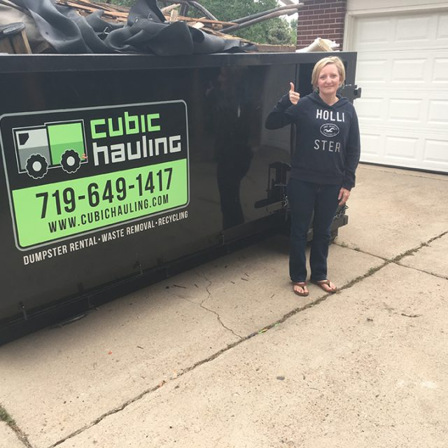 junk removal dumpster rental colorado springs