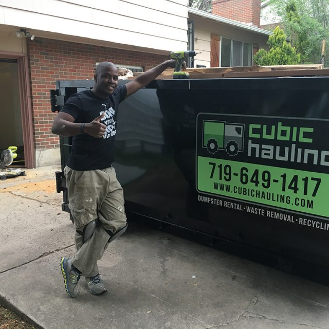 remodeling dumpster rental colorado springs