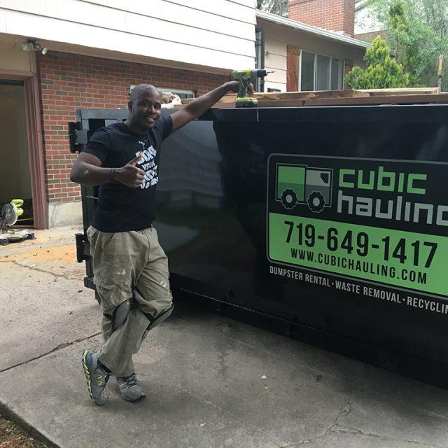remodeling dumpster rental colorado springs