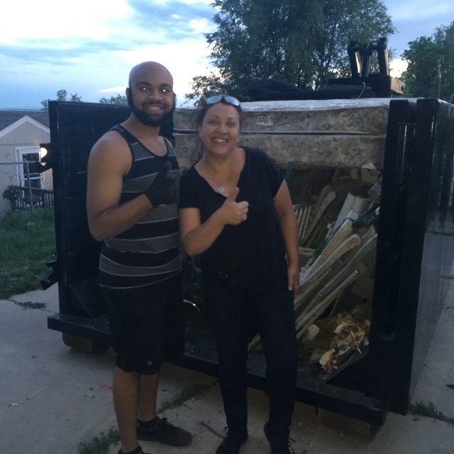 home cleanout dumpster rental colorado springs