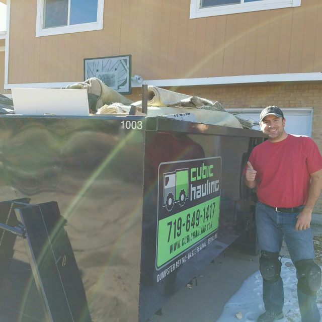 dumpster rental colorado spring