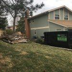 Storm Damage Dumpster