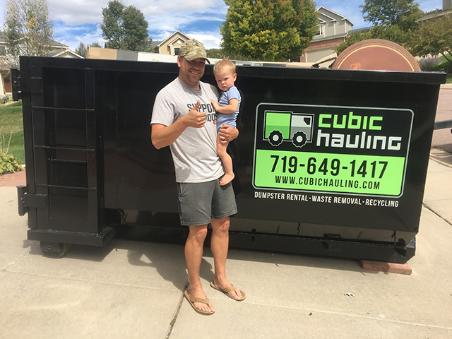 dumpster rental fort carson co