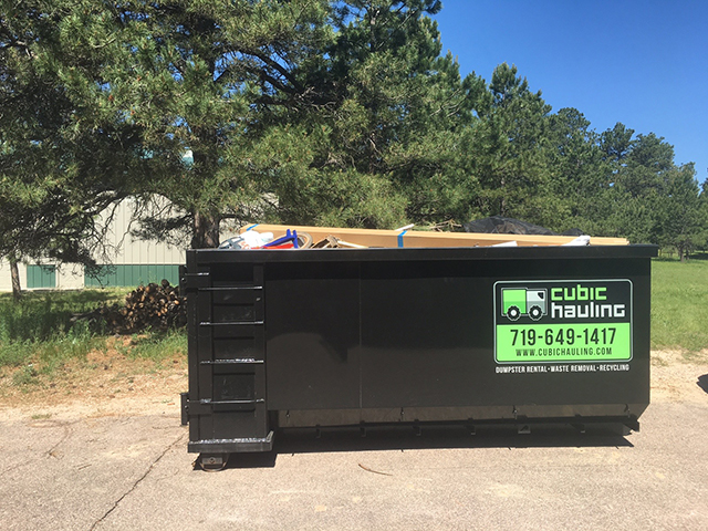dumpster rental black forest co
