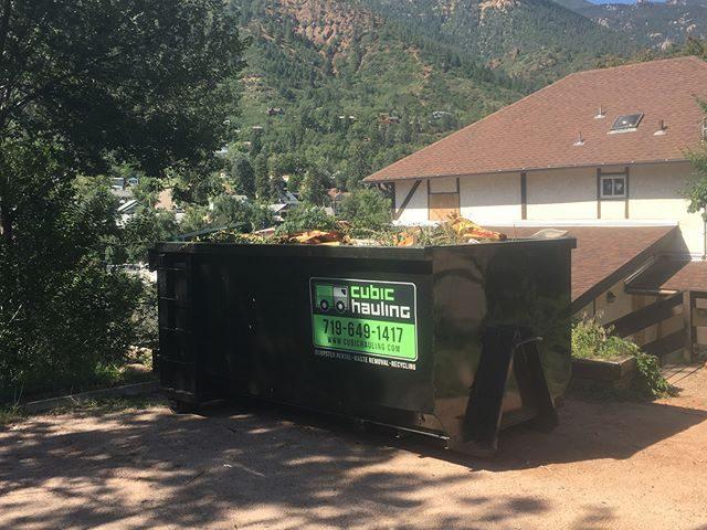 dumpster rental manitou springs co