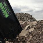 Concrete Recycling Dumpster