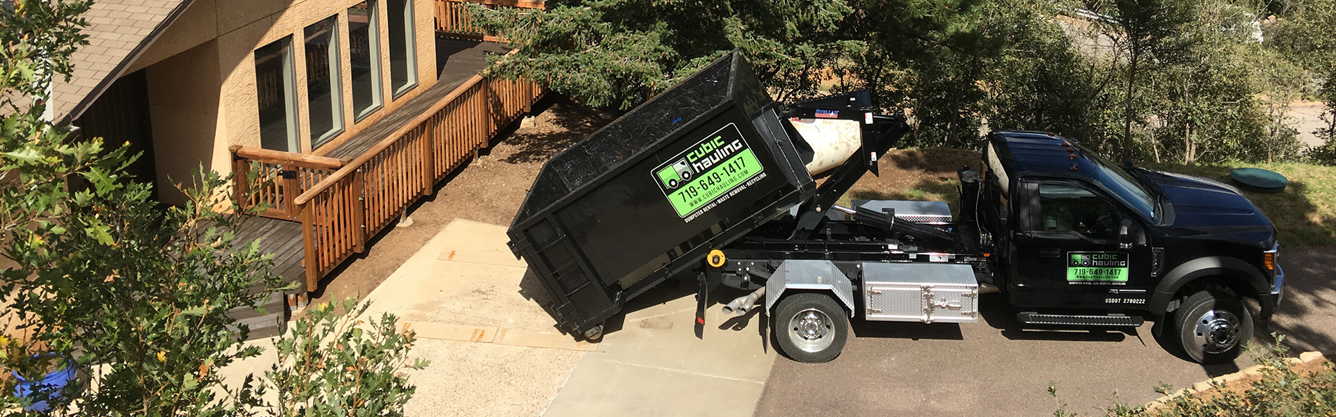 dumpster rental manitou springs