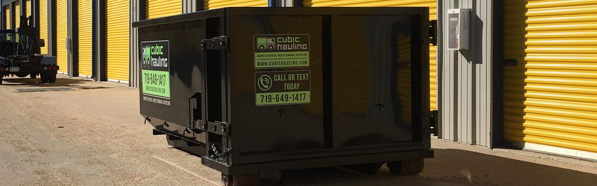 dumpster rental colorado springs
