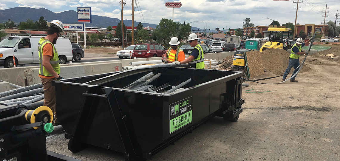 dumpster rental colorado springs municipal
