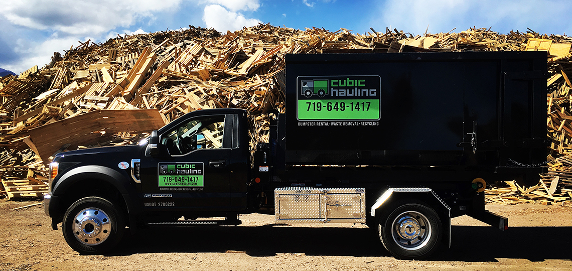 recycling dumpster rental colorado springs