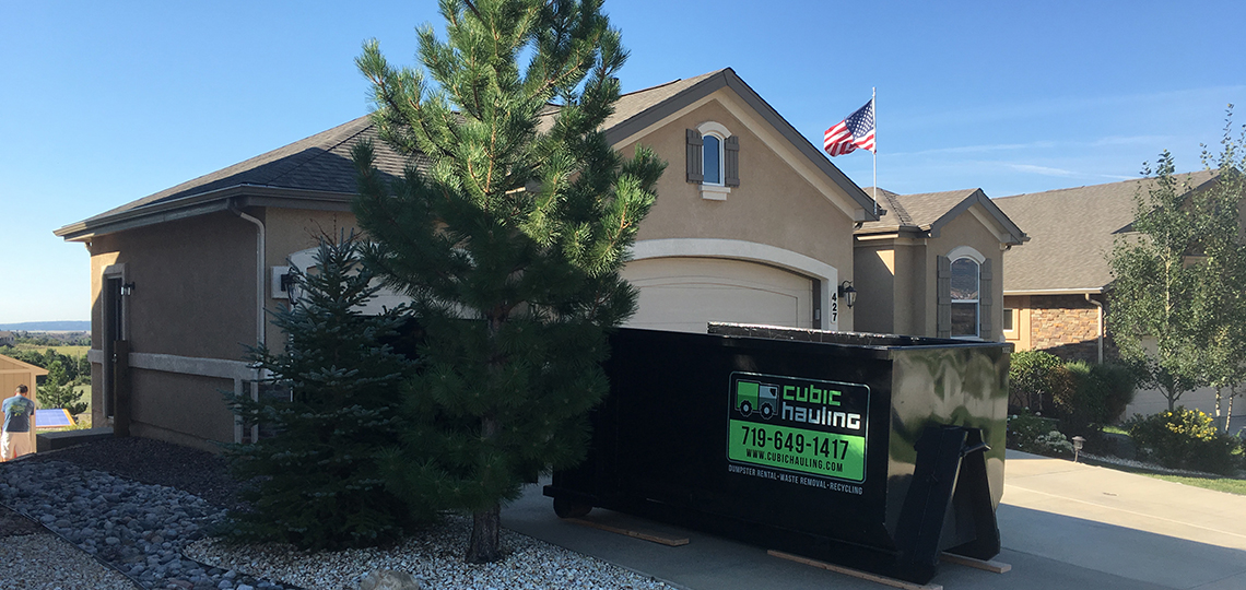 residential dumpster colorado springs