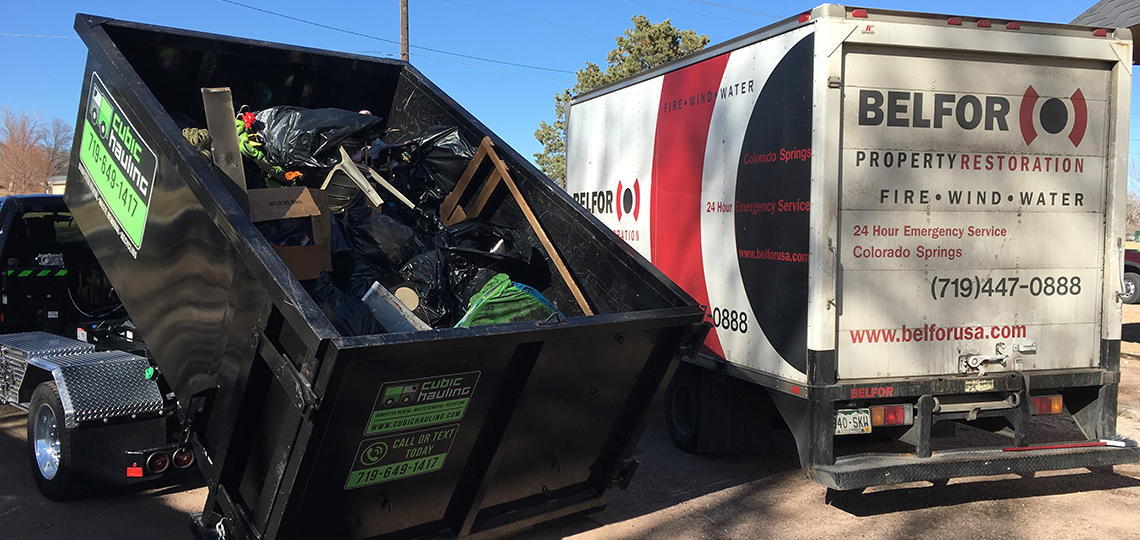 restoration dumpster rental